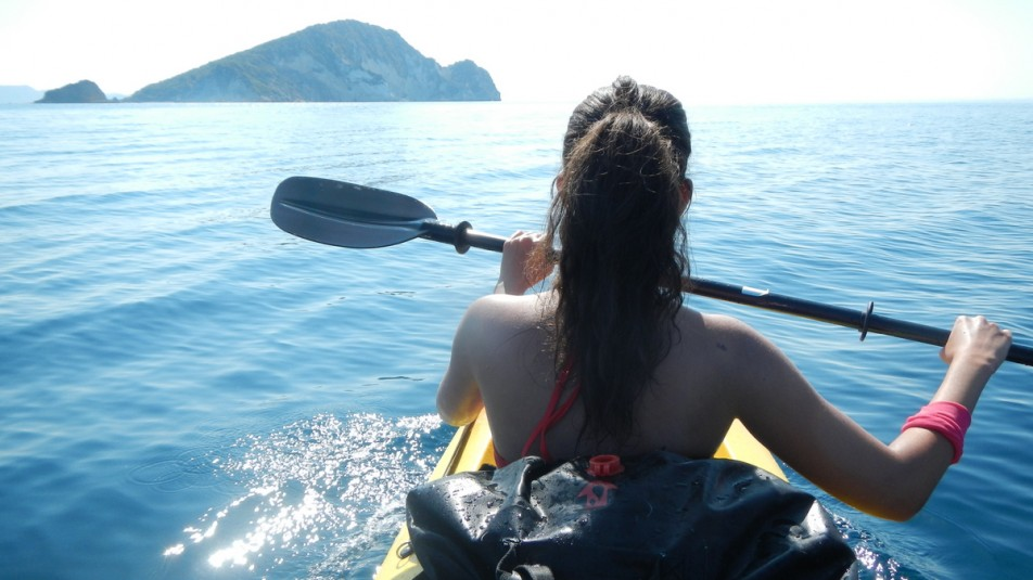 Sea Kayak Excursion to the Turtle Island of Zakynthos