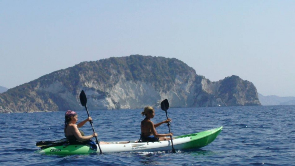 Sea Kayak trip to the Keri Caves of Zakynthos