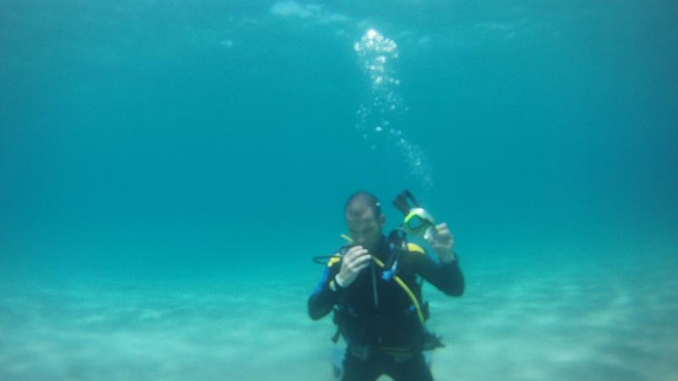 Diver's training courses