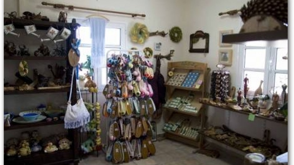 Shop of traditional artifacts and clothing