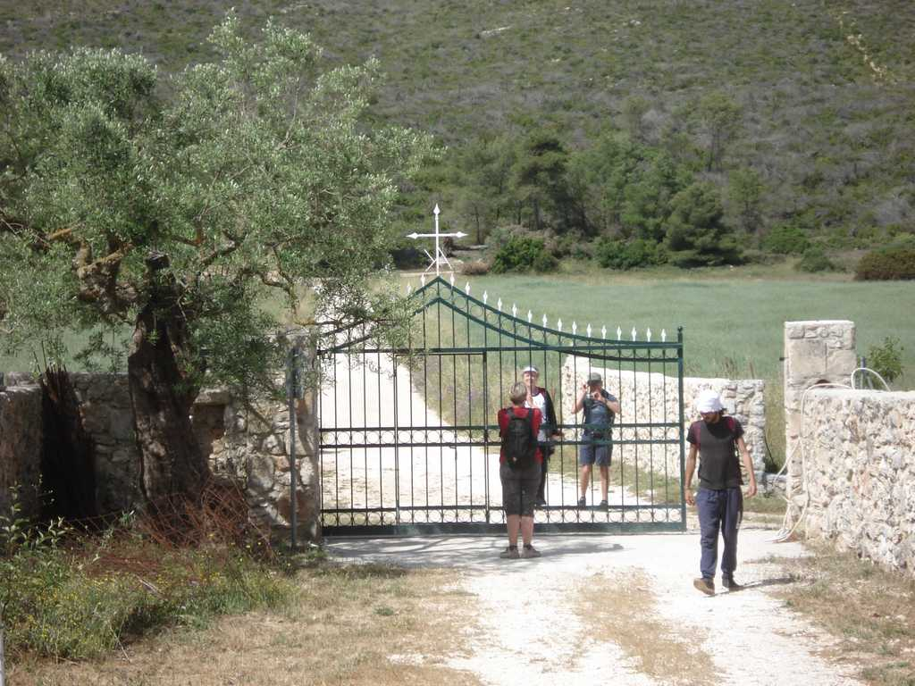 Hike around Zante mountains in the area of Louha