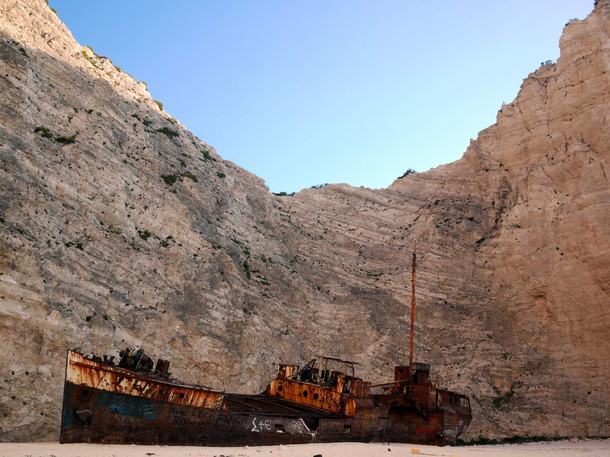 A night out at Navagio Beach (the ship wreak beach)